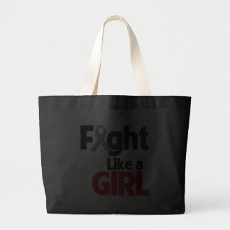 Parkinsons Disease Fight Like a Girl Tote Bags