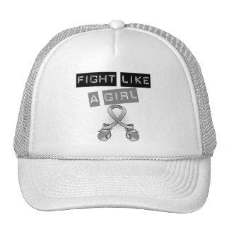 Parkinson's Disease Fight Like A Girl Trucker Hat