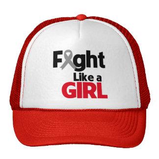 Parkinsons Disease Fight Like a Girl Trucker Hat