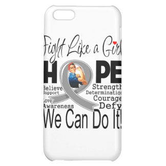 Parkinsons Disease Fight We Can Do It Cover For iPhone 5C
