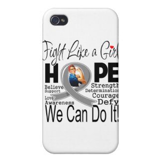 Parkinsons Disease Fight We Can Do It Cases For iPhone 4