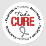 Parkinson's Disease FIND a CURE Stickers