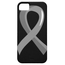 Parkinson's Disease Grey Ribbon 3 iPhone SE/5/5s Case