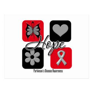 Parkinsons Disease Hope Love Inspire Awareness Post Card