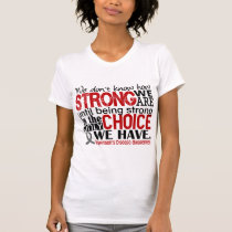 Parkinson's Disease How Strong We Are T-Shirt