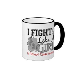 Parkinsons Disease I Fight Like A Girl 15 5 Coffee Mugs