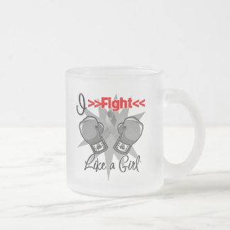 Parkinsons Disease I Fight Like a Girl With Gloves Coffee Mugs