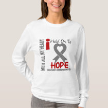 Parkinsons Disease I Hold On To Hope T-Shirt