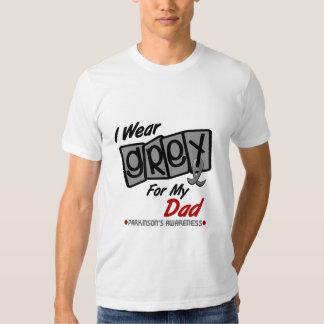 Parkinsons Disease I WEAR GREY For My Dad 8 Shirt