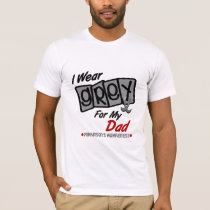 Parkinsons Disease I WEAR GREY For My Dad 8 T-Shirt