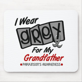 Parkinsons Disease I WEAR GREY For My Grandfather Mouse Pad