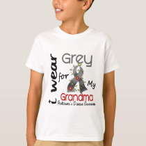 Parkinsons Disease I Wear Grey For My Grandma 43 T-Shirt