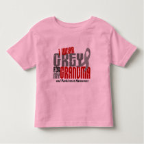 Parkinsons Disease I WEAR GREY FOR MY GRANDMA 6.2 Toddler T-shirt