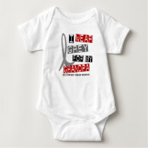 Parkinsons Disease I WEAR GREY FOR MY GRANDPA 37 Baby Bodysuit