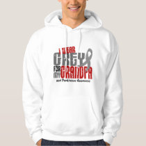 Parkinsons Disease I WEAR GREY FOR MY GRANDPA 6.2 Hoodie