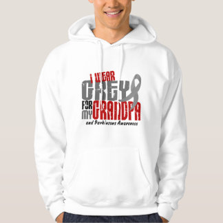 Parkinsons Disease I WEAR GREY FOR MY GRANDPA 6.2 Pullover