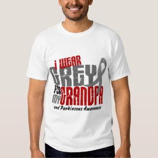 Parkinsons Disease I WEAR GREY FOR MY GRANDPA 6.2 T Shirt