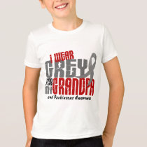 Parkinsons Disease I WEAR GREY FOR MY GRANDPA 6.2 T-Shirt