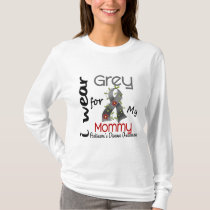 Parkinsons Disease I Wear Grey For My Mommy 43 T-Shirt