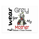 Parkinsons Disease I Wear Grey For My Mother 43 Post Card