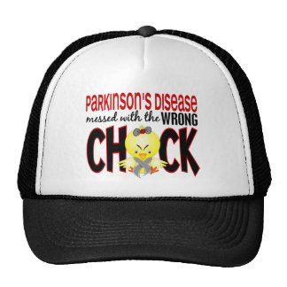 Parkinson's Disease Messed With The Wrong Chick Trucker Hat
