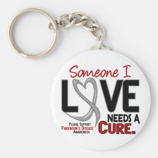 Parkinsons Disease NEEDS A CURE 2 Keychain