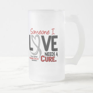 Parkinsons Disease NEEDS A CURE 2 16 Oz Frosted Glass Beer Mug