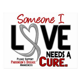 Parkinsons Disease NEEDS A CURE 2 Postcard