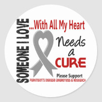 Parkinsons Disease Needs A Cure 3 Classic Round Sticker