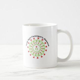 parkinson's disease, parkinsons disease, tulip, pd classic white coffee mug