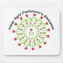 parkinson's disease, parkinsons disease, tulip, pd mouse pad
