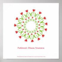 parkinson's disease, parkinsons disease, tulip, pd poster