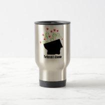 parkinson's disease, parkinsons disease, tulip travel mug