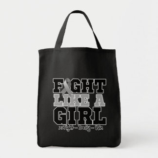 Parkinsons Disease Sporty Fight Like a Girl Canvas Bag