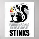 Parkinson's Disease Stinks Poster