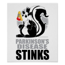 Parkinson's Disease Stinks Poster