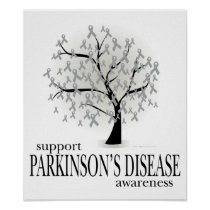 Parkinson's Disease Tree Poster