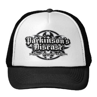 Parkinson's Disease Tribal Trucker Hat
