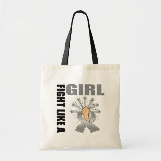 Parkinson's Disease Victory Fight Like A Girl Tote Bags