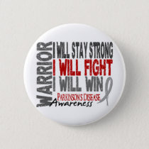 Parkinson's Disease Warrior Button