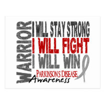Parkinson's Disease Warrior Postcard