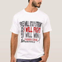Parkinson's Disease Warrior T-Shirt