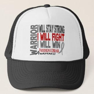 Parkinson's Disease Warrior Trucker Hat