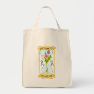 Parkinson's Find a Cure Grocery Tote