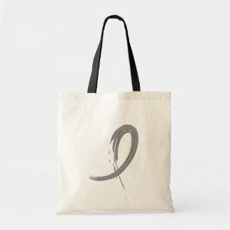 Parkinson's Grey Ribbon A4 Tote Bag
