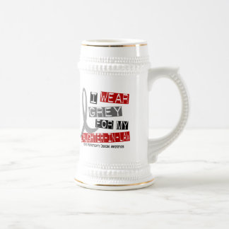 Parkinsons I WEAR GREY FOR MY DAUGHTER-IN-LAW 37 Beer Stein