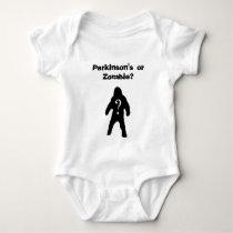 Parkinson's or Zombie? Baby Bodysuit
