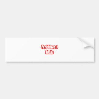 Parkinson's Sucks Bumper Sticker