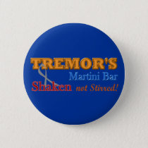 Parkinson's Tremor's Martini Bar Shaken Design Button