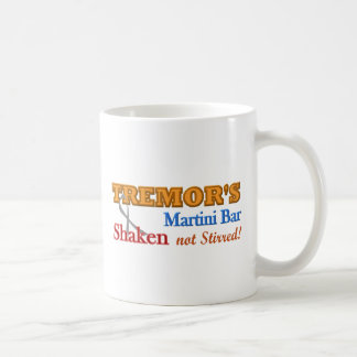 Parkinson's Tremor's Martini Bar Shaken Design Coffee Mug